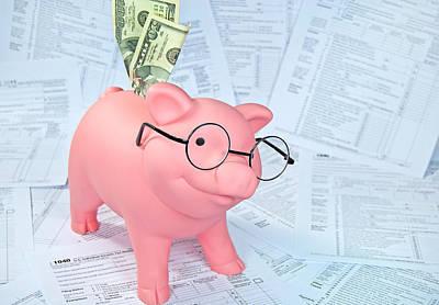 Tax Time Art Print