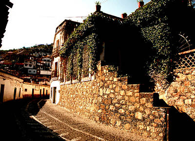 Photograph - Taxco Curve by Robert  Rodvik