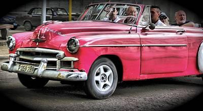 Photograph - Taxi In Cuba by Perry Frantzman