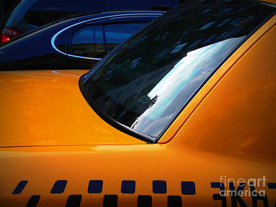 Photograph - Taxi - Iconic New York City by Miriam Danar