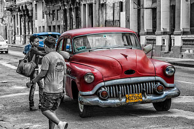 Photograph - Taxi by Patrick Boening
