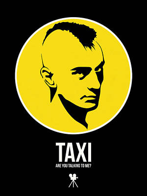 Superhero Mixed Media - Taxi Poster 2 by Naxart Studio