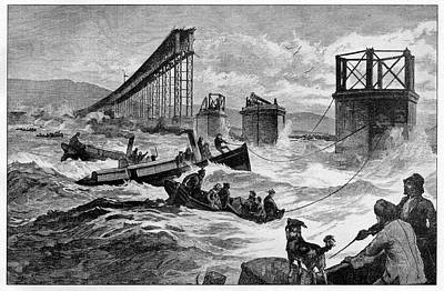 1879 Photograph - Tay Bridge Rail Crash by Cci Archives