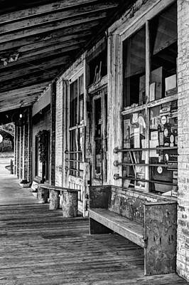 Photograph - Taylor Grocery Bw by JC Findley