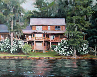 Painting - Taylor House by Ellen Howell