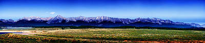 Rocky Digital Art - Taylor Park - Colorado by Ellen Heaverlo