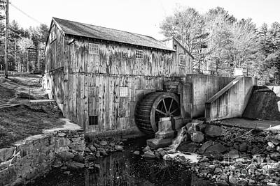 Taylor Sawmill - Derry New Hampshire Usa Art Print by Erin Paul Donovan