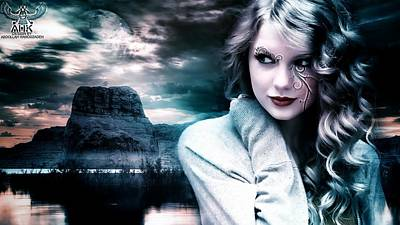 Taylor Swift Digital Art - Taylor Swift By A.h.k by Abdollah Hamodzadeh