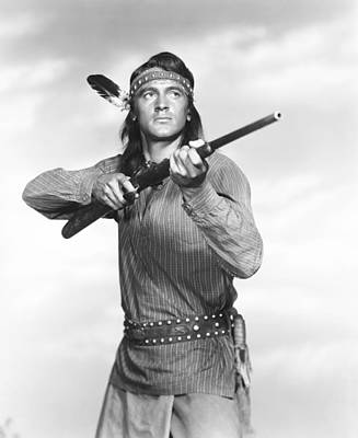 Taza, Son Of Cochise, Rock Hudson, 1954 Art Print by Everett