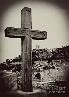 Tbilisi Photograph - Tbilisi Cross by Emily Kay