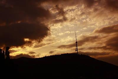 Tbilisi Photograph - Tbilisi Mast by George Ch