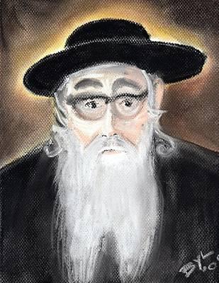 Judaica Drawing - Tchabe Rav by Baruch Y Lebovits