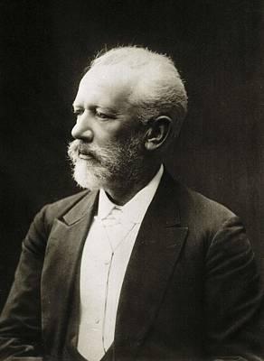 Tchaikovsky, Pyotr Ilych  1840-1893. � Art Print