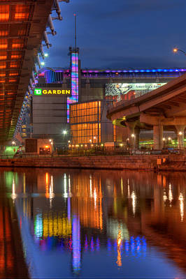 Photograph - Td Garden - Breast Cancer Awareness - Boston by Joann Vitali