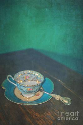 Gilt Cup Photograph - Tea Alone by Danilo Piccioni