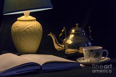 Photograph - Tea And A Good Book by Brian Roscorla