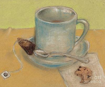 Tea And Chocolate Chips Original by P J Lewis