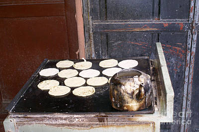 Photograph - Tea And Tortillas Guatemala by John  Mitchell