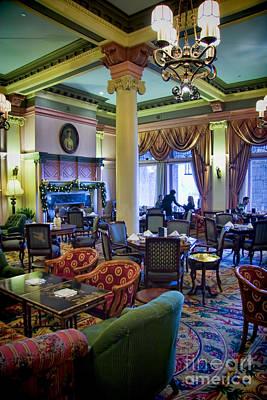 Photograph - Tea At The Royal Empress by David Smith