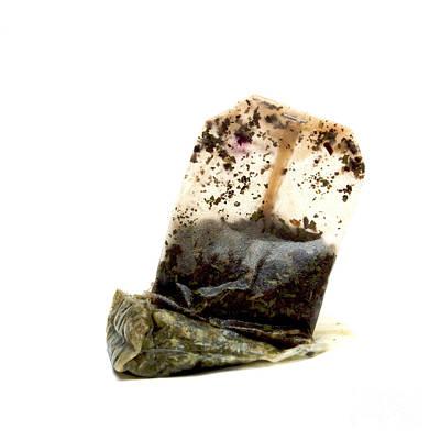 Tea Bag Art Print by Bernard Jaubert