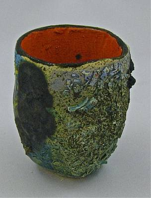 Sculpture - Tea Bowl #1 by Mario MJ Perron