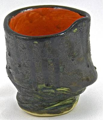 Sculpture - Tea Bowl #11 by Mario MJ Perron