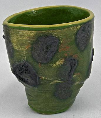 Sculpture - Tea Bowl #12 by Mario MJ Perron