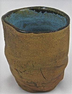 Sculpture - Tea Bowl #15 by Mario MJ Perron