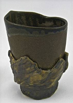 Sculpture - Tea Bowl #19 by Mario MJ Perron