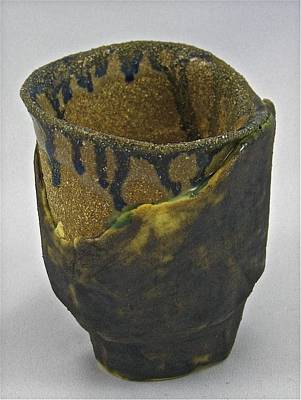 Sculpture - Tea Bowl #20 by Mario MJ Perron