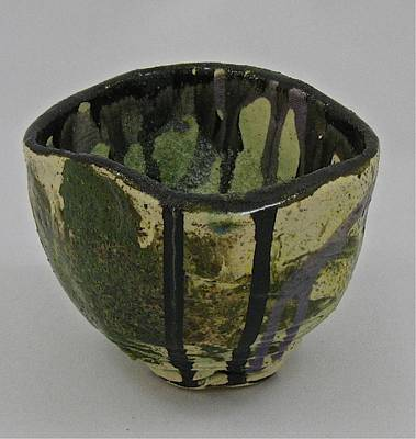 Sculpture - Tea Bowl #3 by Mario MJ Perron