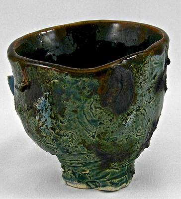 Sculpture - Tea Bowl #7 by Mario MJ Perron