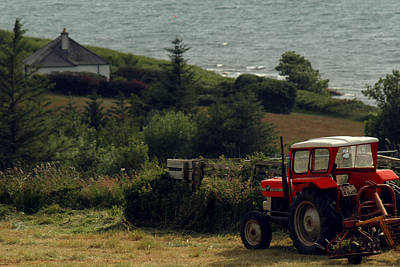 Photograph - Tea Break Tractor by Anthony Bean