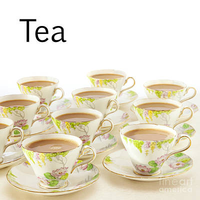 Photograph - Tea Concept by Colin and Linda McKie