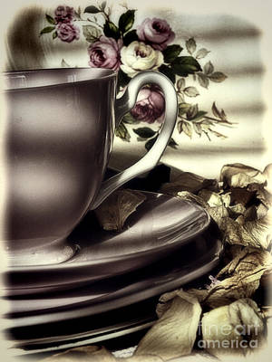 Photograph - Tea Cup Memories by Karen Lewis