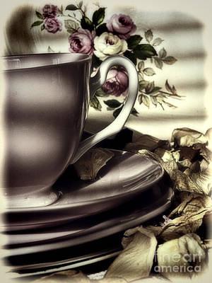 Photograph - Tea Cup Memories by Karen Lewis