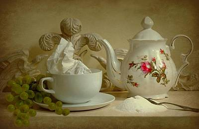 Tea For One Photograph - Tea For One by Diana Angstadt