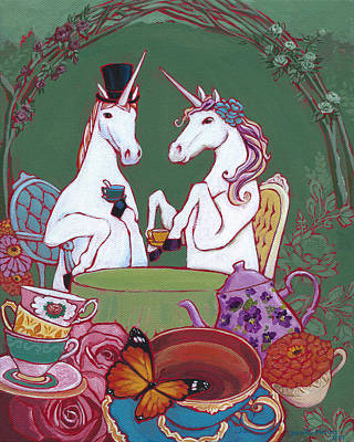 Tea For Two Original by Jennifer Masters