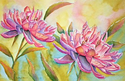 Pink Painting - Tea For Two by Kathryn Duncan