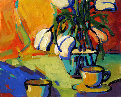 Painting - Tea For Two by Konnie Kim