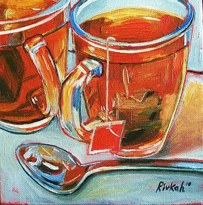 Painting - Tea For Two by Rivkah Singh