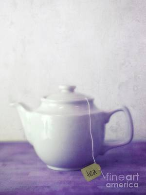 Tea Photograph - Tea Jug by Priska Wettstein