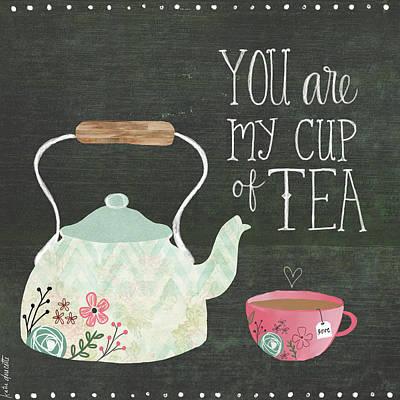 Tea Pot Art Print by Katie Doucette