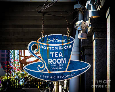 Tea Room Photograph - Tea Room by Perry Webster