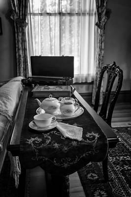 Halloween Movies - Tea Service by Lynn Palmer