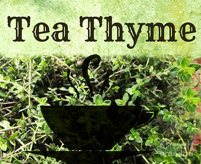 Photograph - Tea Thyme by Mindy Bench
