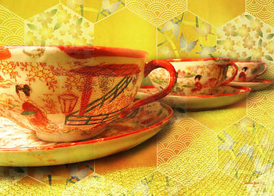 Photograph - Tea Time 2 by Shawna Rowe