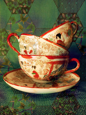 Photograph - Tea Time 3 by Shawna Rowe