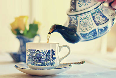 Photograph - Tea Time by Barbara Taeger Photography