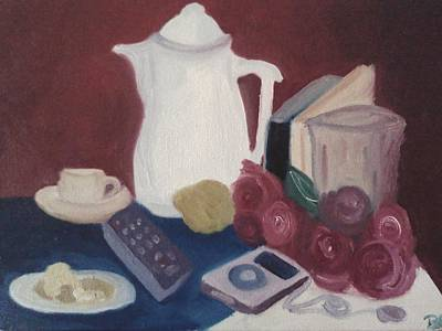 Painting - Tea Time by Darlene Berger